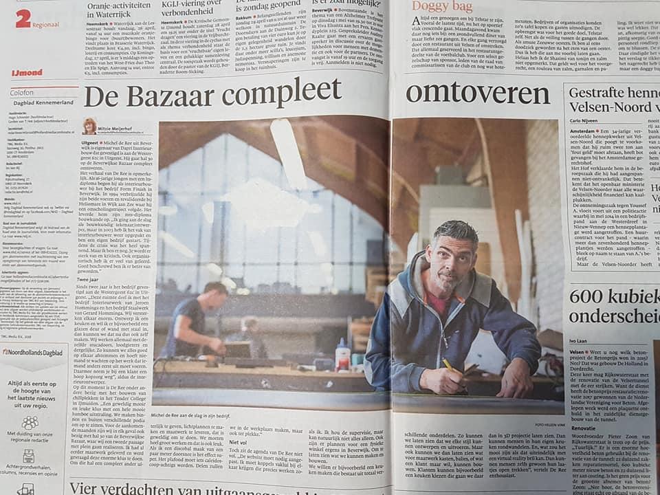 Dapri Interieurbouw - in de krant